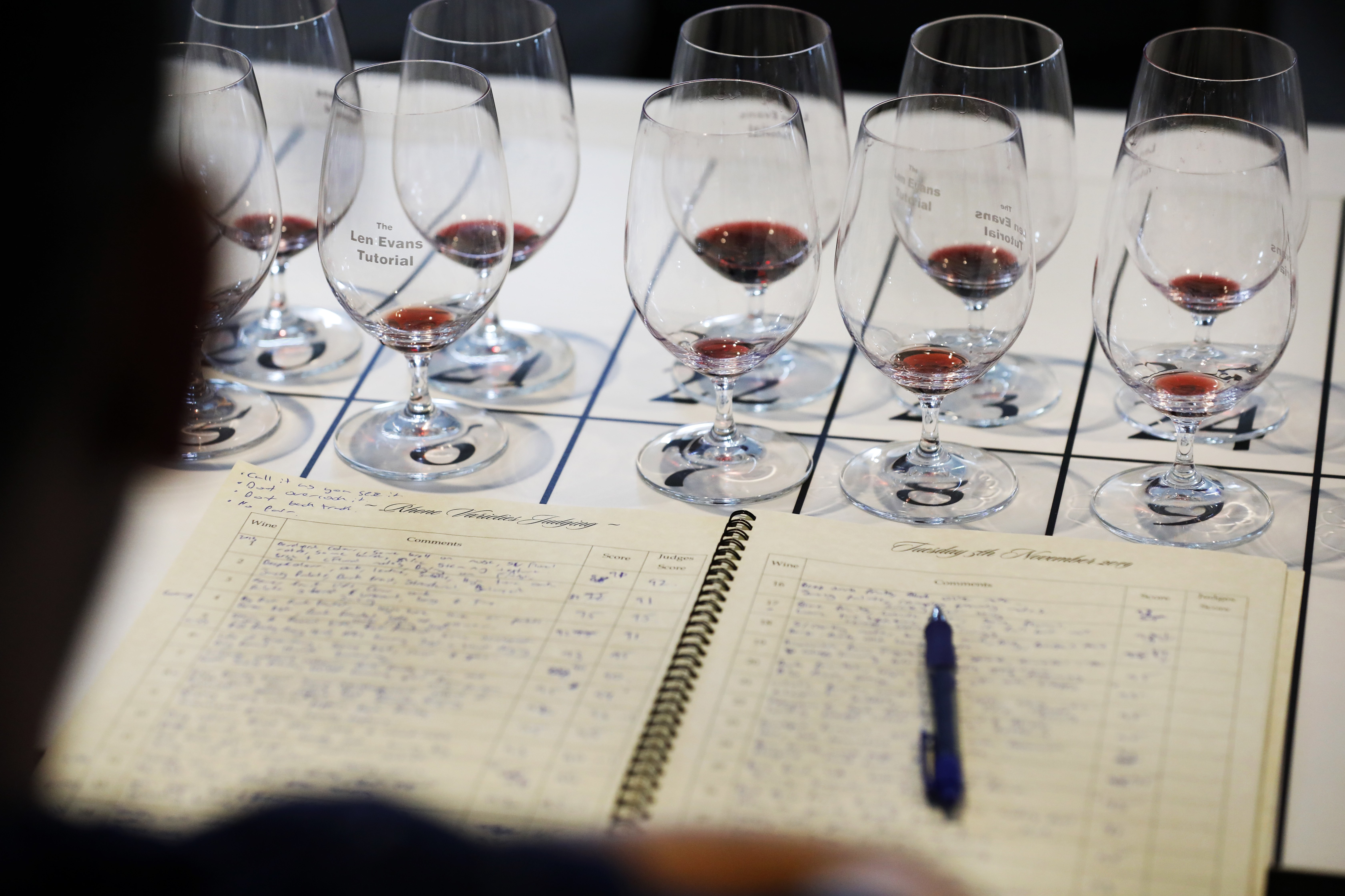 Tasting notes, LET 2019 Photos by Chris Elfes copy